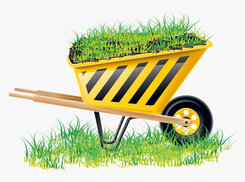 Lawn Vector Garden Grass - Building Icons, HD Png Download, Free Download