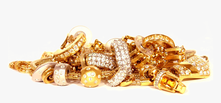 Transparent Jewel Clipart Transparent Background Gold Jewellery Png Png Download Kindpng