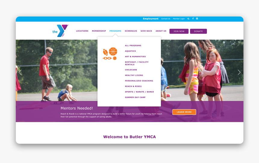 Ymca Website Designs Siteplan - Online Advertising, HD Png Download, Free Download
