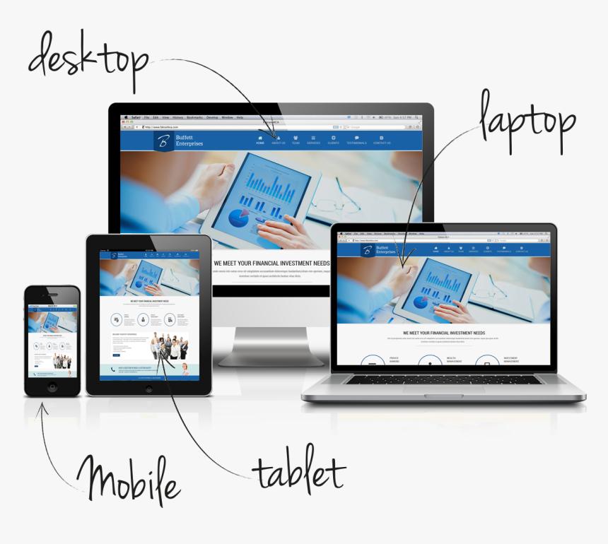 # - Responsive Web Design Img, HD Png Download, Free Download