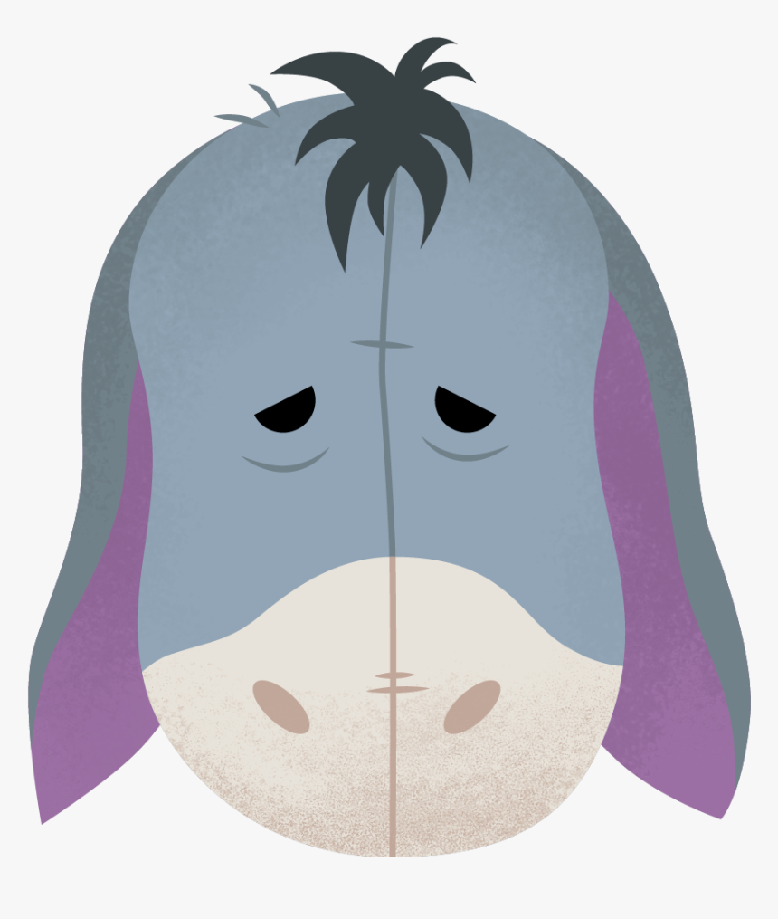 Eeyore Twitter Emoji - Discord Emoji Eeyore, HD Png Download, Free Download