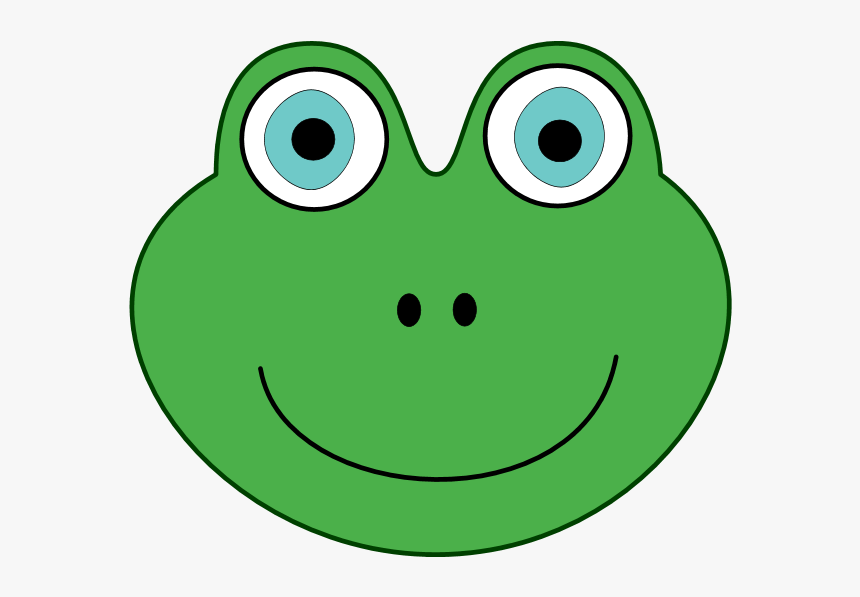 Toad Clipart Frog Face - Bufo, HD Png Download, Free Download