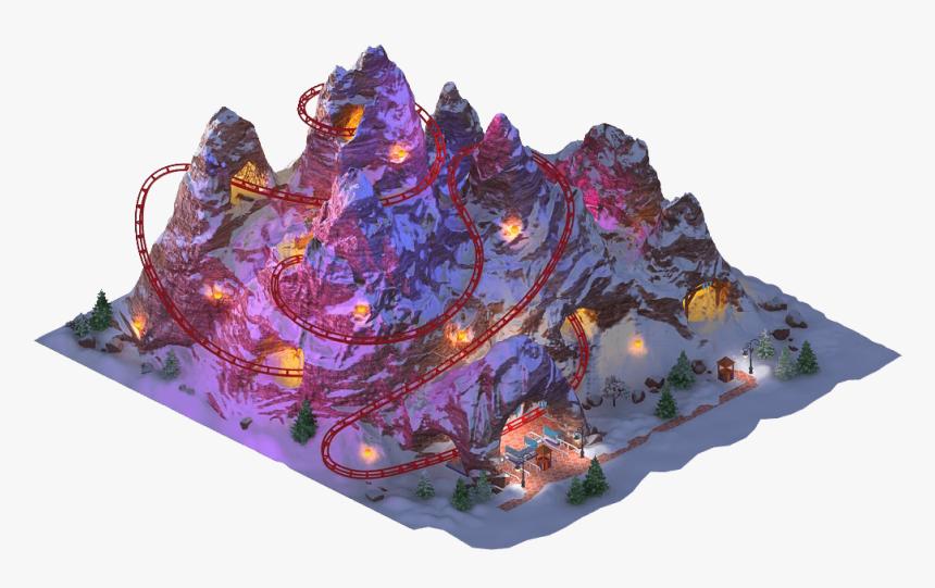 Megapolis Wiki - Megapolis Roller Coaster, HD Png Download, Free Download
