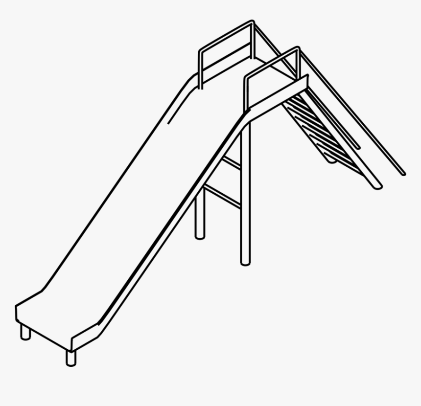 Line Art,angle,area - Black And White Slides Clip Art, HD Png Download, Free Download