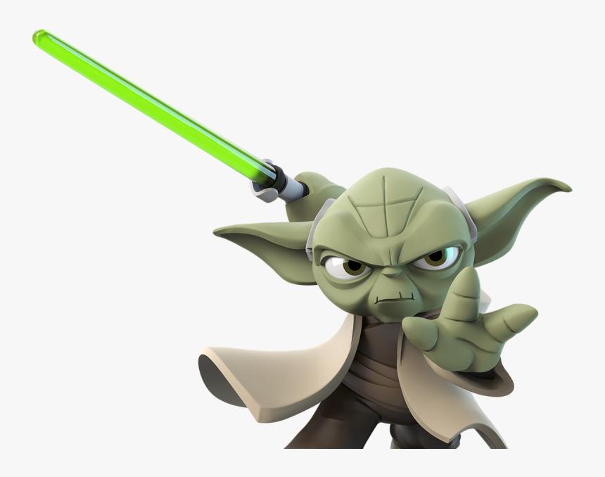 Disney Infinity - Star Wars Yoda Disney Infinity, HD Png Download, Free Download