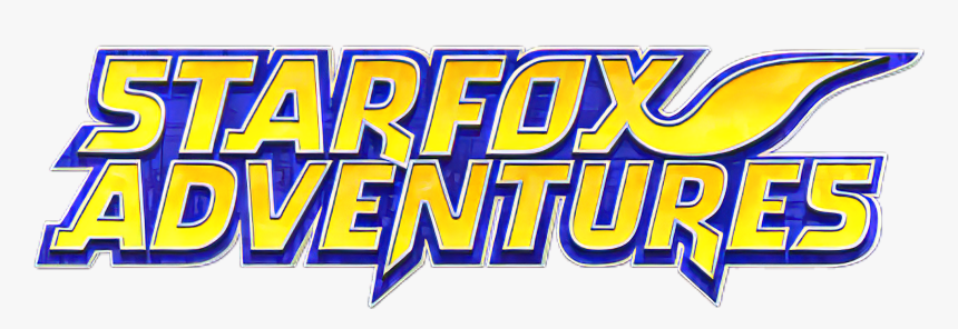 Tex1512x1284bad6aed6 ] - Star Fox Adventures Logo, HD Png Download, Free Download