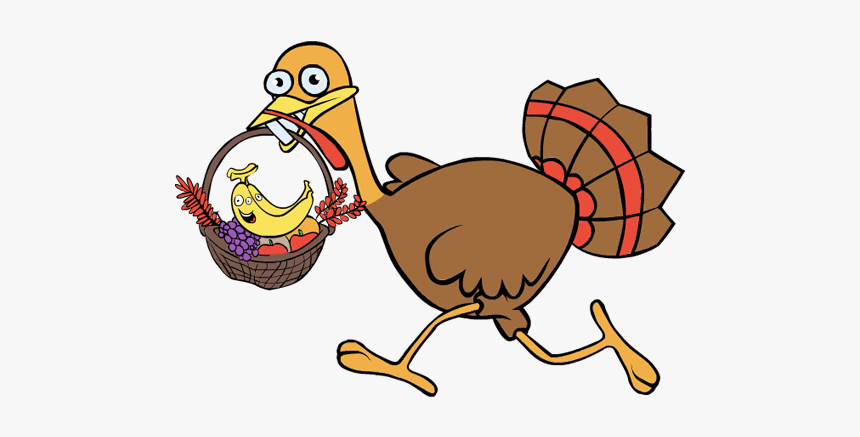 Transparent Turkeys Running Clipart, HD Png Download, Free Download