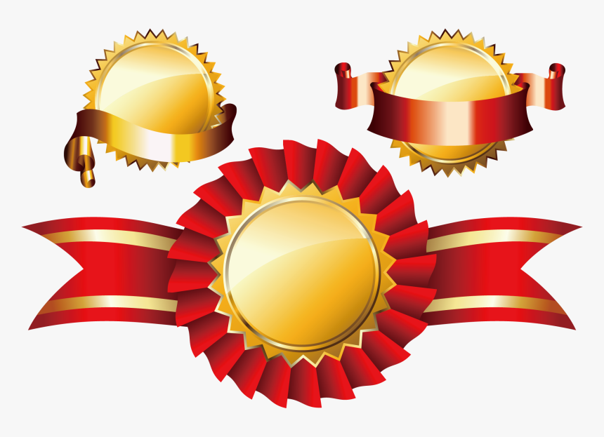 Transparent Award Ribbon Clipart Black And White - Medal Png, Png Download, Free Download