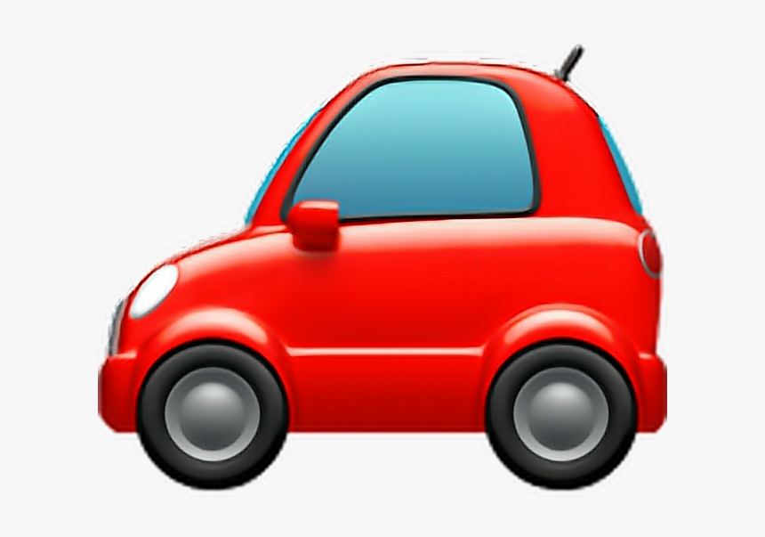 #emoji #car #auto #automobile #vechicle #bus #red #redcar - Car Emoji Png, Transparent Png, Free Download
