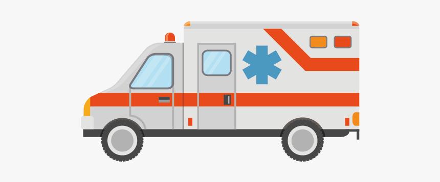 Ambulance Hospital Vecteur - Ambulancia Vector Png, Transparent Png, Free Download