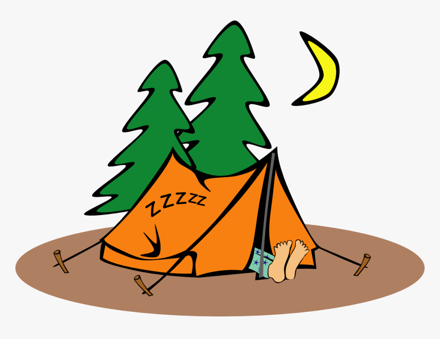 Camping Clip Art, HD Png Download, Free Download