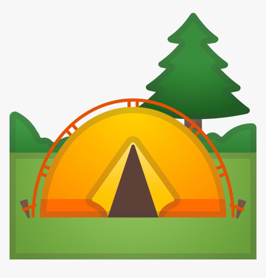 Camping Icon - Zelt Emoji, HD Png Download, Free Download
