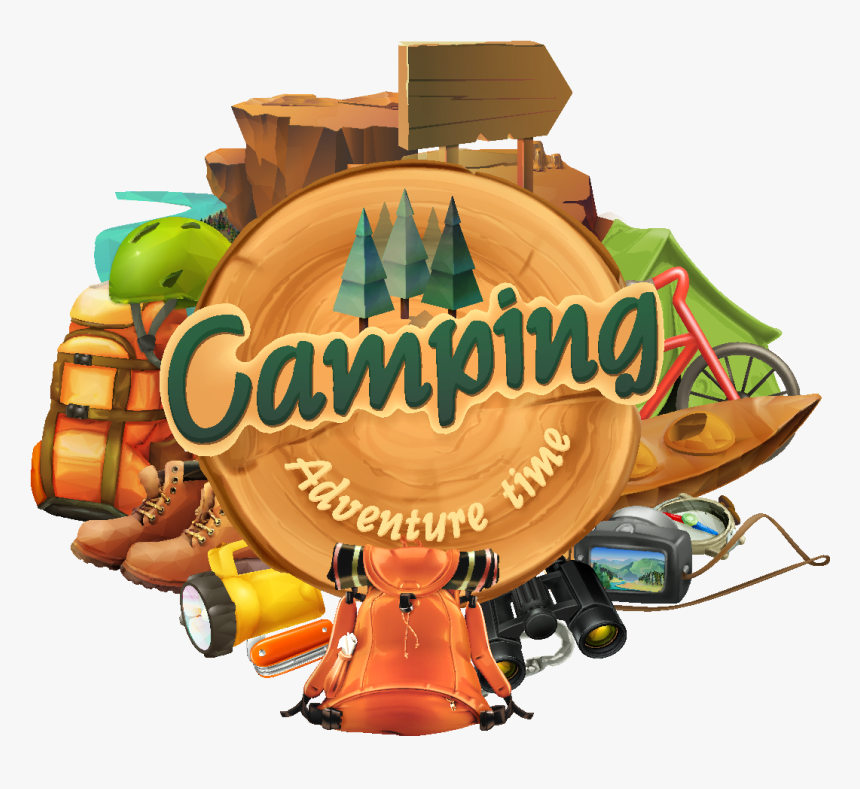 Clipart Camping, HD Png Download, Free Download