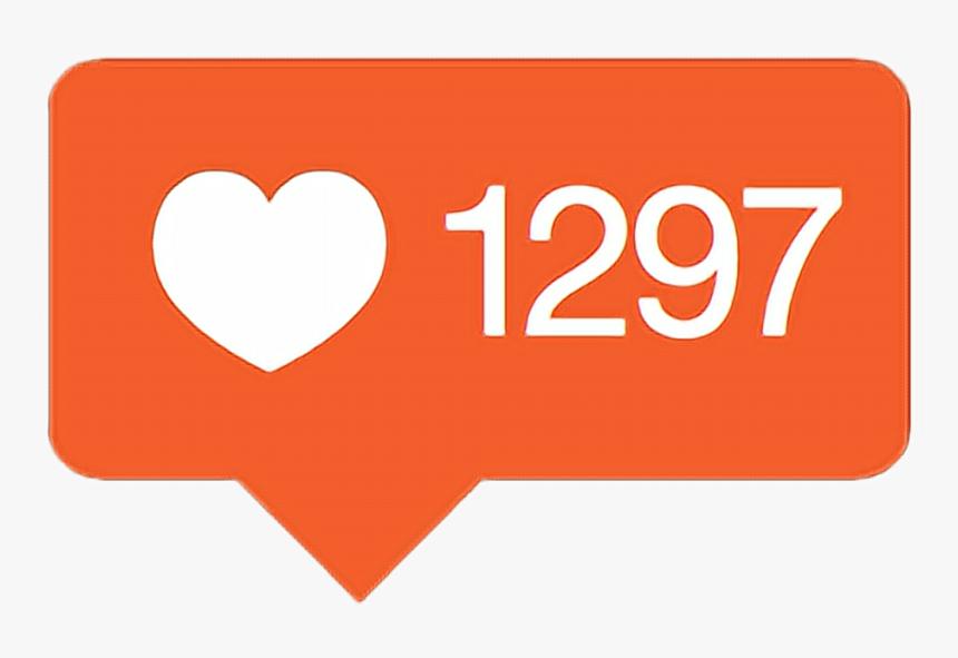 Likes Instagram Socialmedia Internet Instagramlike - Instagram Followers Icons Png, Transparent Png, Free Download