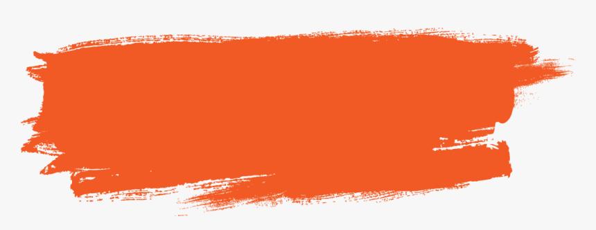 Orange Paint Brush Png , Png Download - Paint Vector Art Png, Transparent Png, Free Download