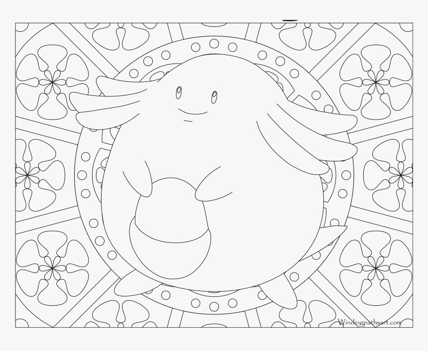 Mandala Coloring Pages Pokemon Mew Png Download Pokemon Mandala Coloring Pages Transparent Png Kindpng