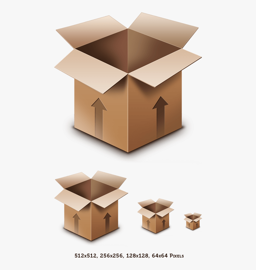 Cardboard Box Icon, HD Png Download, Free Download