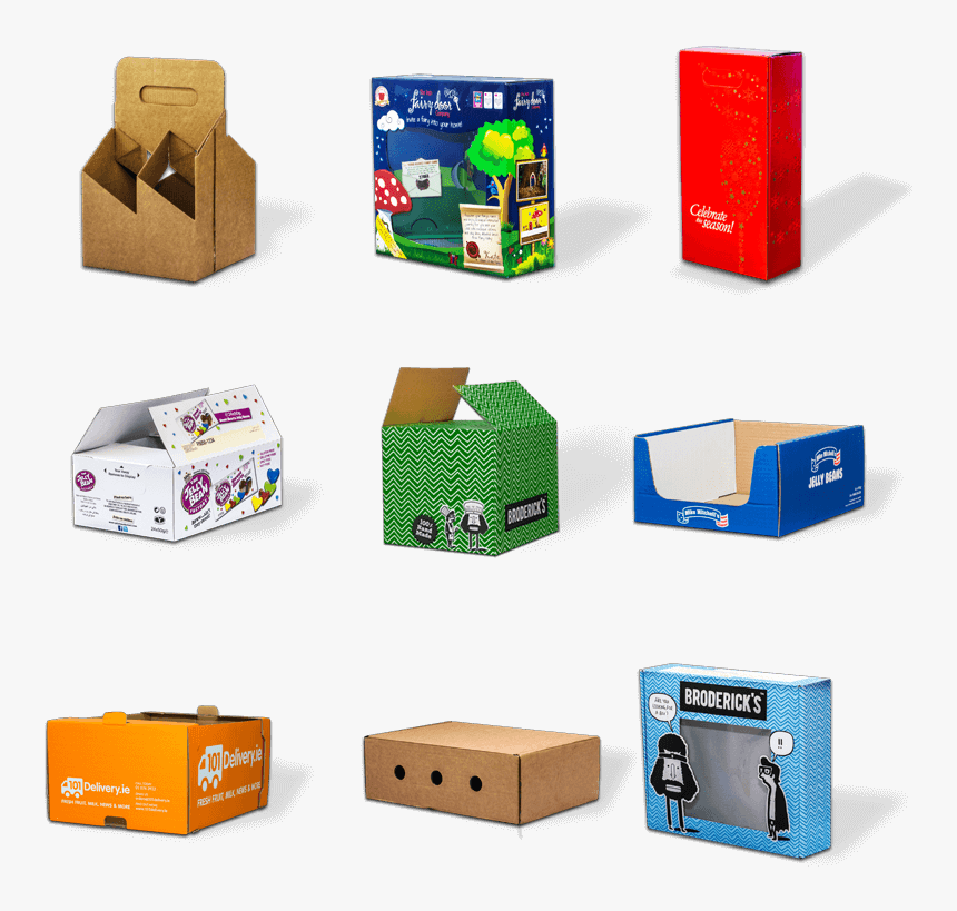 Ace Corrugated Carboard Box Showcase - Home Delivery Food Packaging Box, HD Png Download, Free Download
