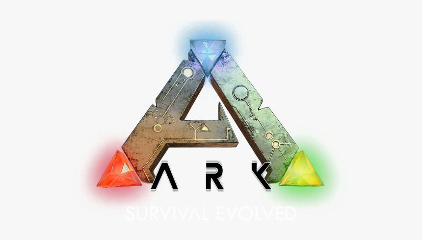 Ark Survival Evolved Wallpaper Logo Fond Blanc Abrokegamer, HD Png Download, Free Download