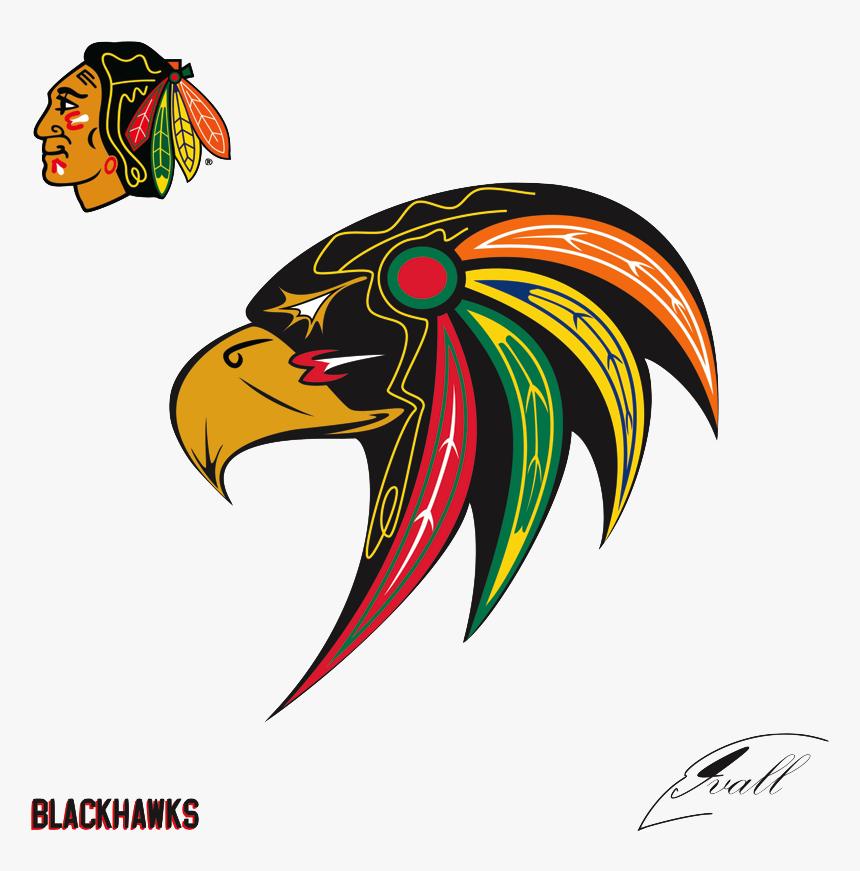 Transparent Blackhawks Png - Blackhawks Logos, Png Download, Free Download