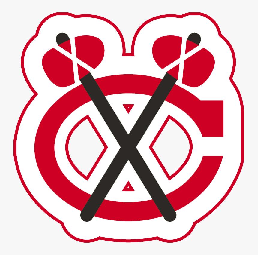 Transparent Blackhawks Png - Chicago Blackhawks Logo Red, Png Download, Free Download