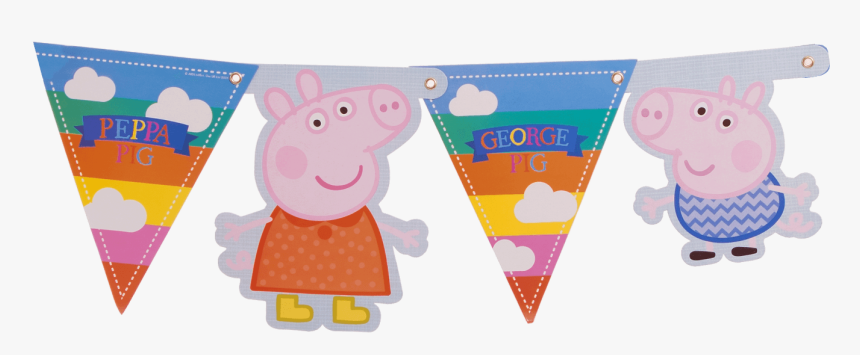 Peppa Pig Banner - Party, HD Png Download, Free Download
