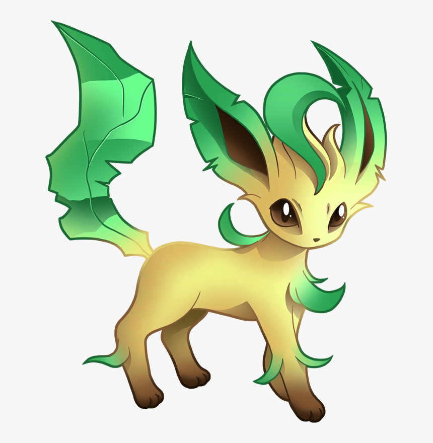 Pokemon Leafeon Shiny, HD Png Download, Free Download