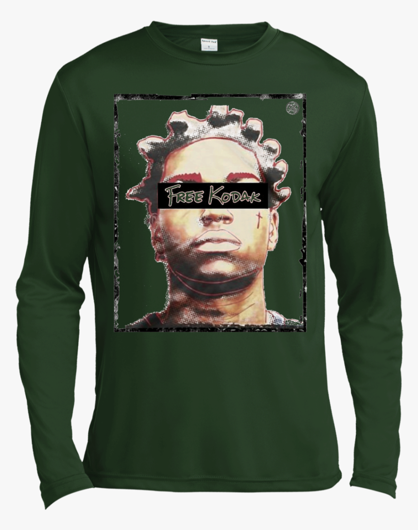 Free Kodak Black Long Sleeve Moisture Absorbing Shirt - Member Of The Crazy Cousin Crew, HD Png Download, Free Download