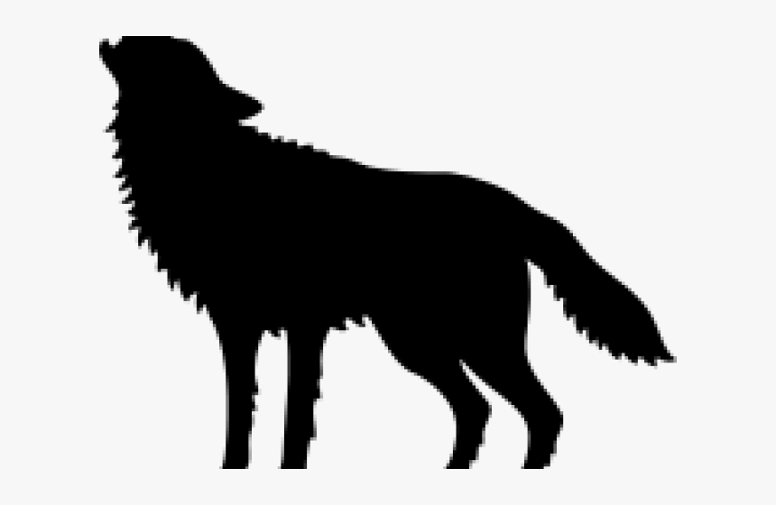 Howling Wolf At Full Moon Bag (640x480), Png Download - Howling Wolf Silhouette Png, Transparent Png, Free Download