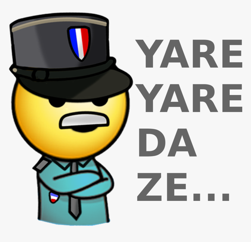 Sticker Jojo Bizarre Adventure Jotaro Joutarou Yare - Olej Do Pilarki Spalinowej, HD Png Download, Free Download