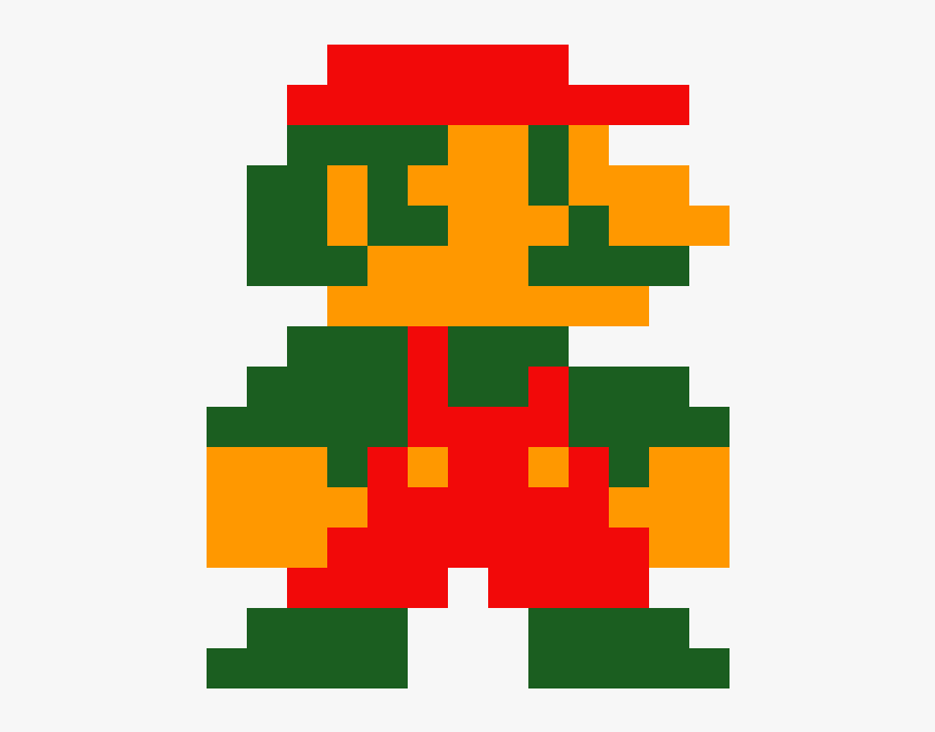 8 Bit Mario Png, Transparent Png, Free Download