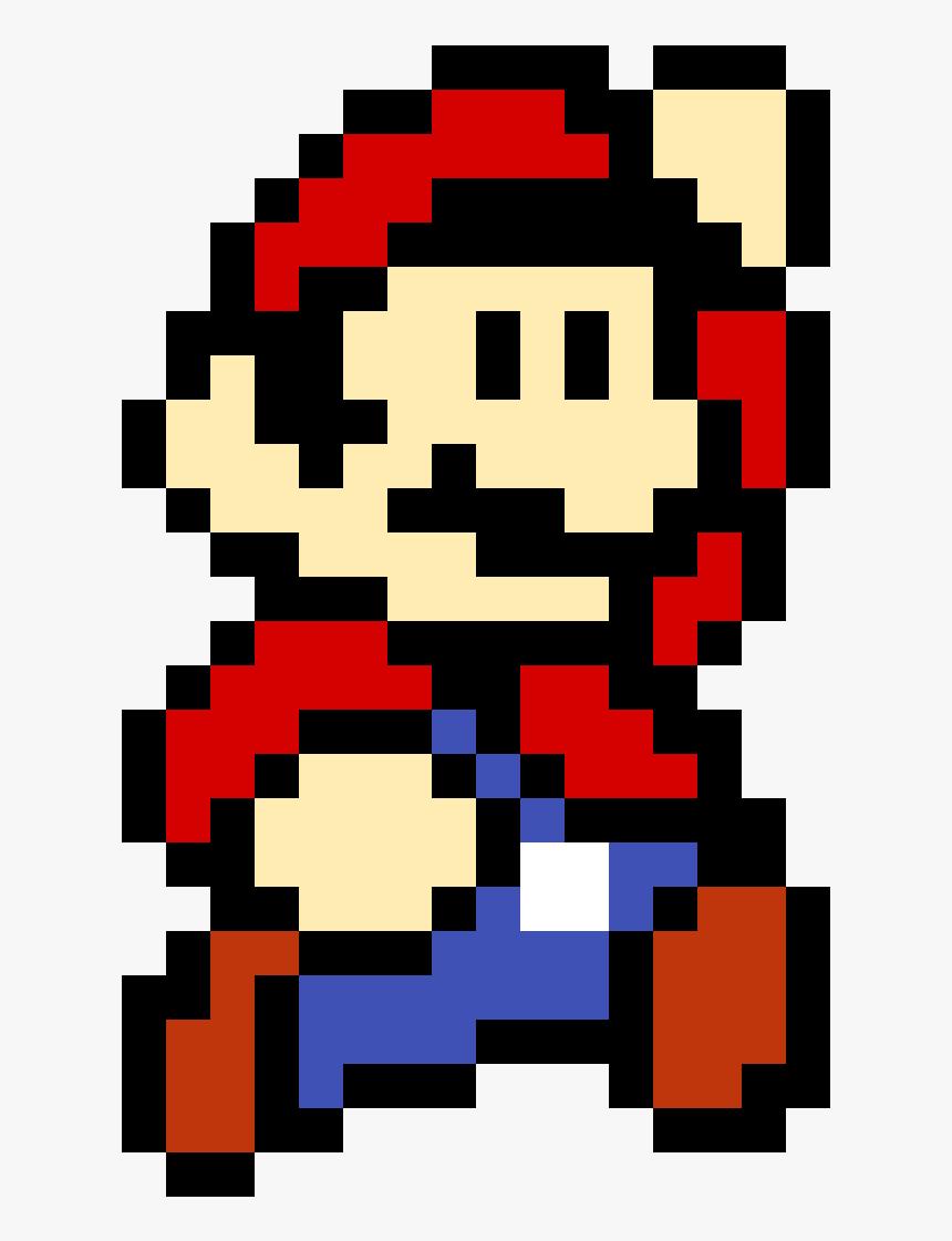 8 Bit Mario Png Transparent Png Kindpng