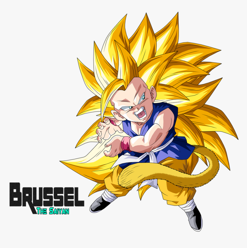 Goku Gt Super Sayajin 3, HD Png Download, Free Download