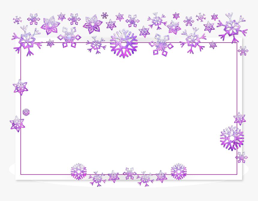 Frame, Border, Card, Xmas, Christmas, Snow, Flake, HD Png Download, Free Download