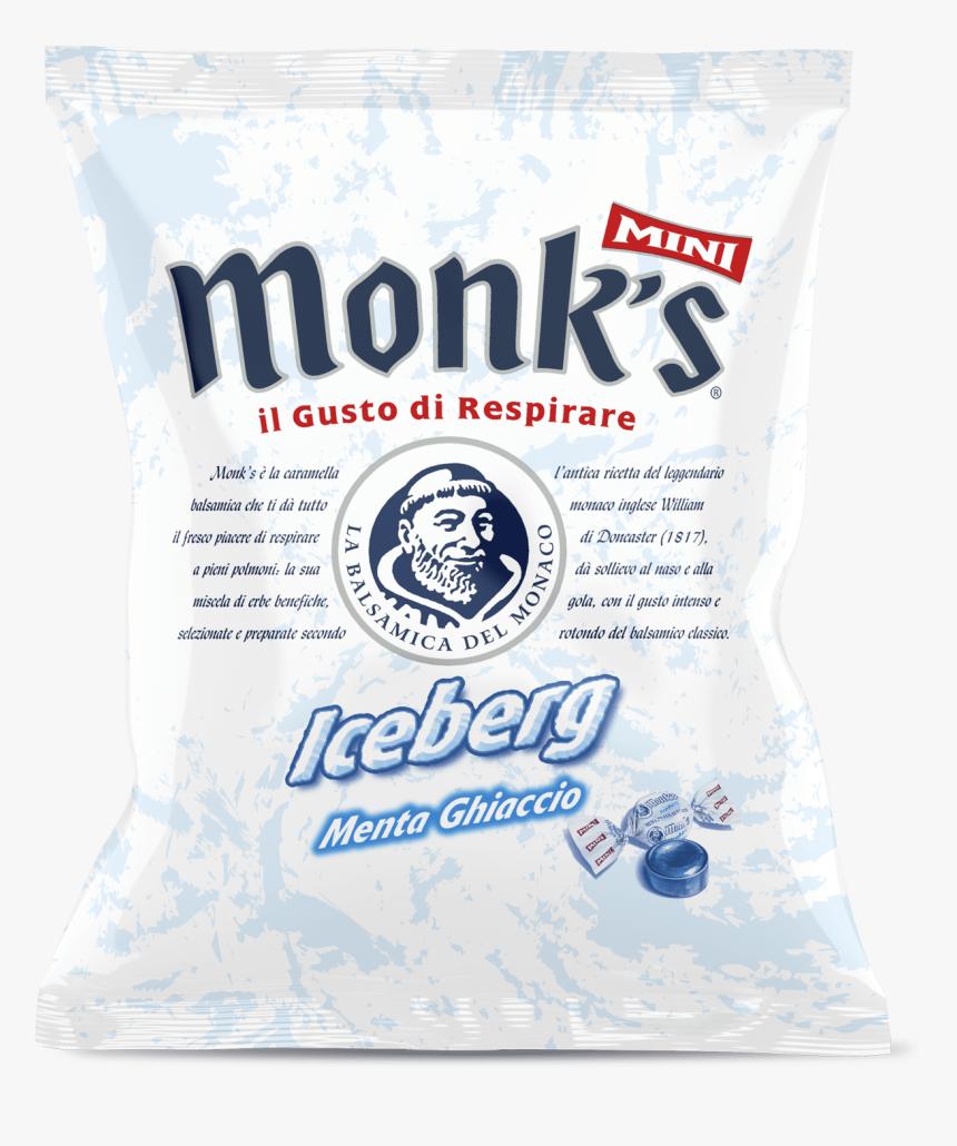 "Busta Da 60 G Monk""s Iceberg Balsamica Monks Caramelle HD"
