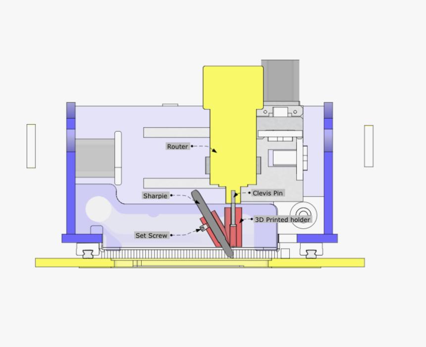 Sharpie Holder 1 Floor Plan Hd Png Download Kindpng