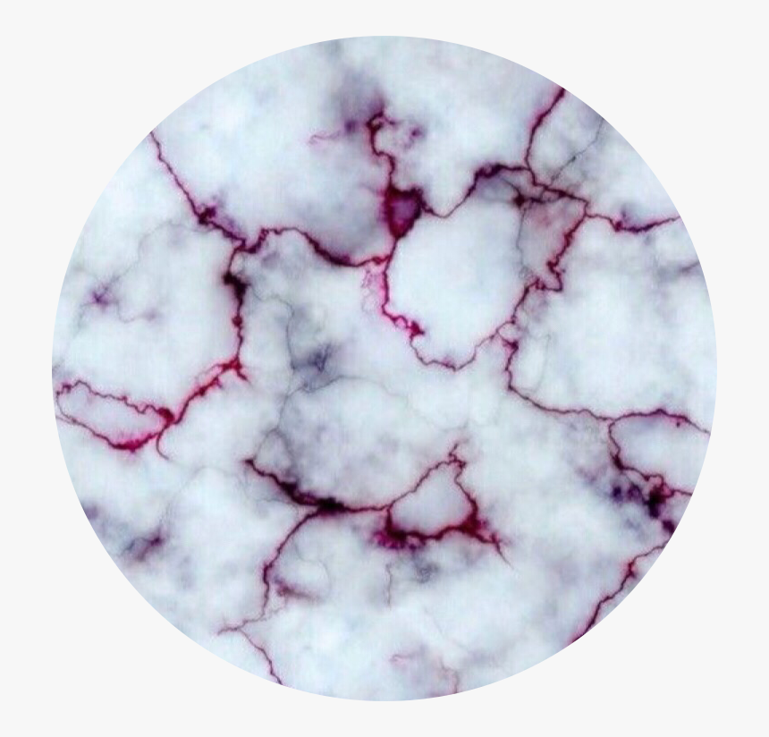 Circle Background Aesthetic Marble Red White Blood On