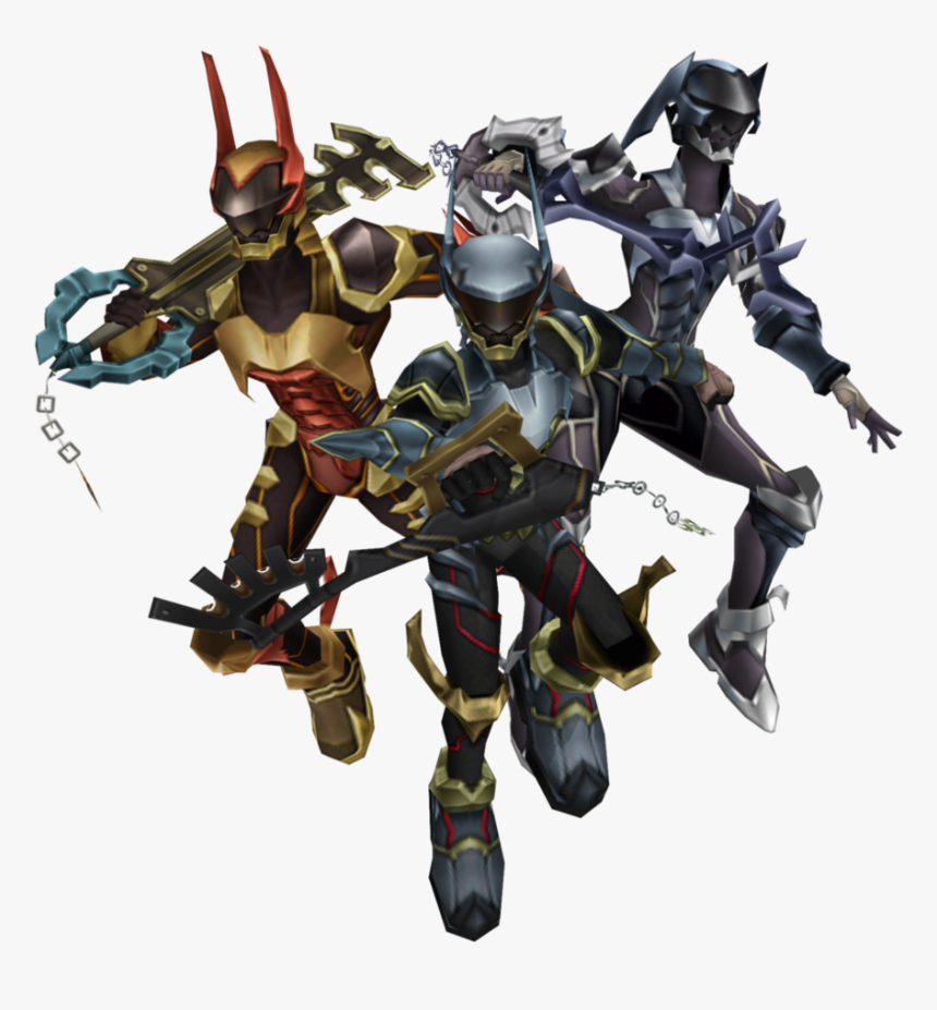 Khbbs Charas Keyblade Armor - Kingdom Hearts Terra Aqua And Ventus Armor, HD Png Download, Free Download