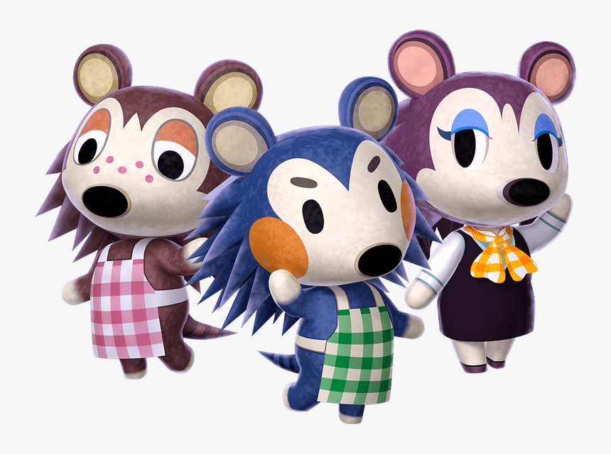 Animal Crossing New Leaf Personajes Hd Png Download Sable