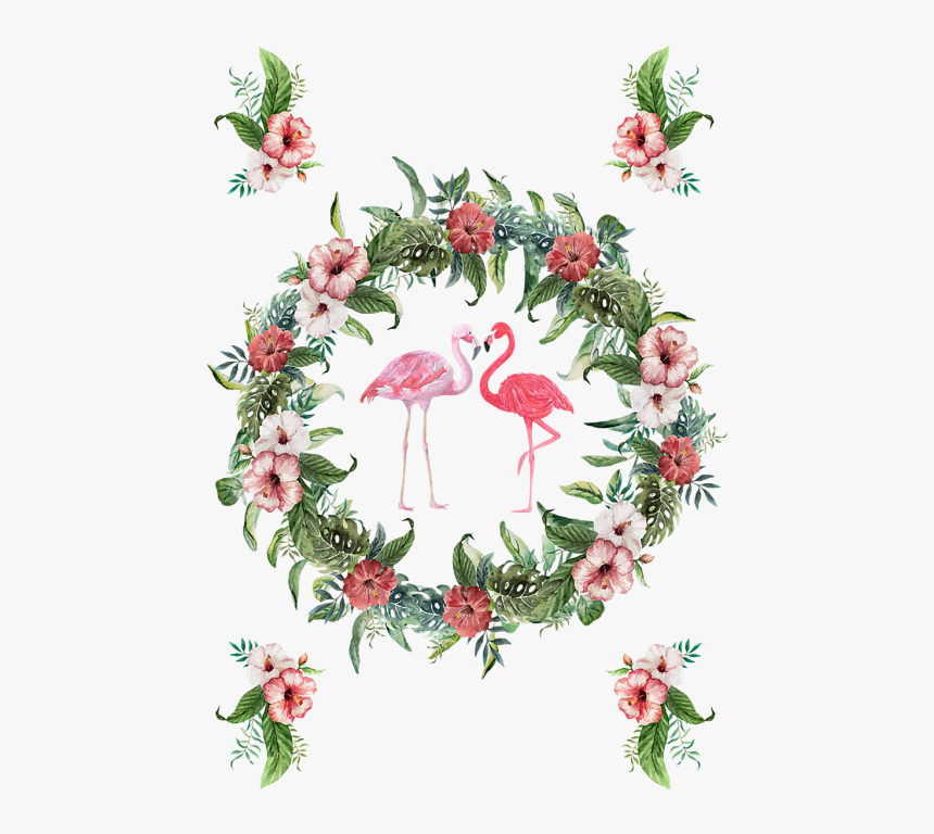 Bleed Area May Not Be Visible - Tropical Wreath Png, Transparent Png, Free Download