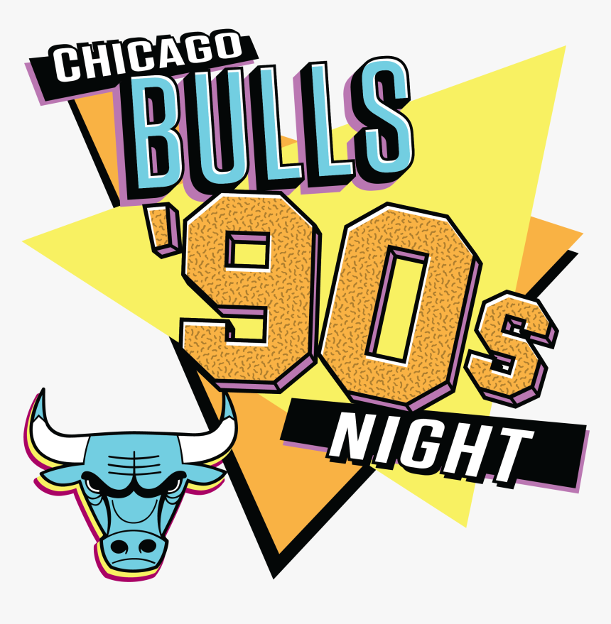 Chicago Bulls Clipart Png Download Chicago Bulls 90s Night