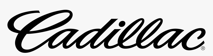 White Vector Cadillac Logo, HD Png Download, Free Download