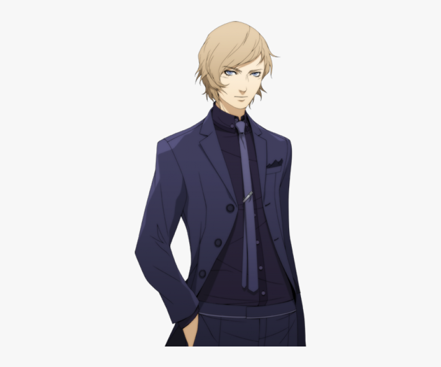 Anime Character In A Suit, HD Png Download, Free Download