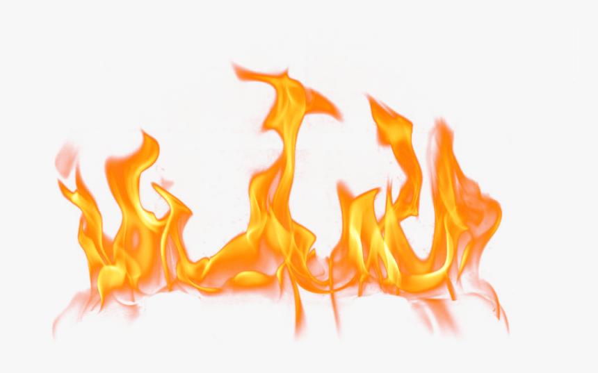 Transparent Campfire Png Transparent - Flames On Transparent Background, Png Download, Free Download
