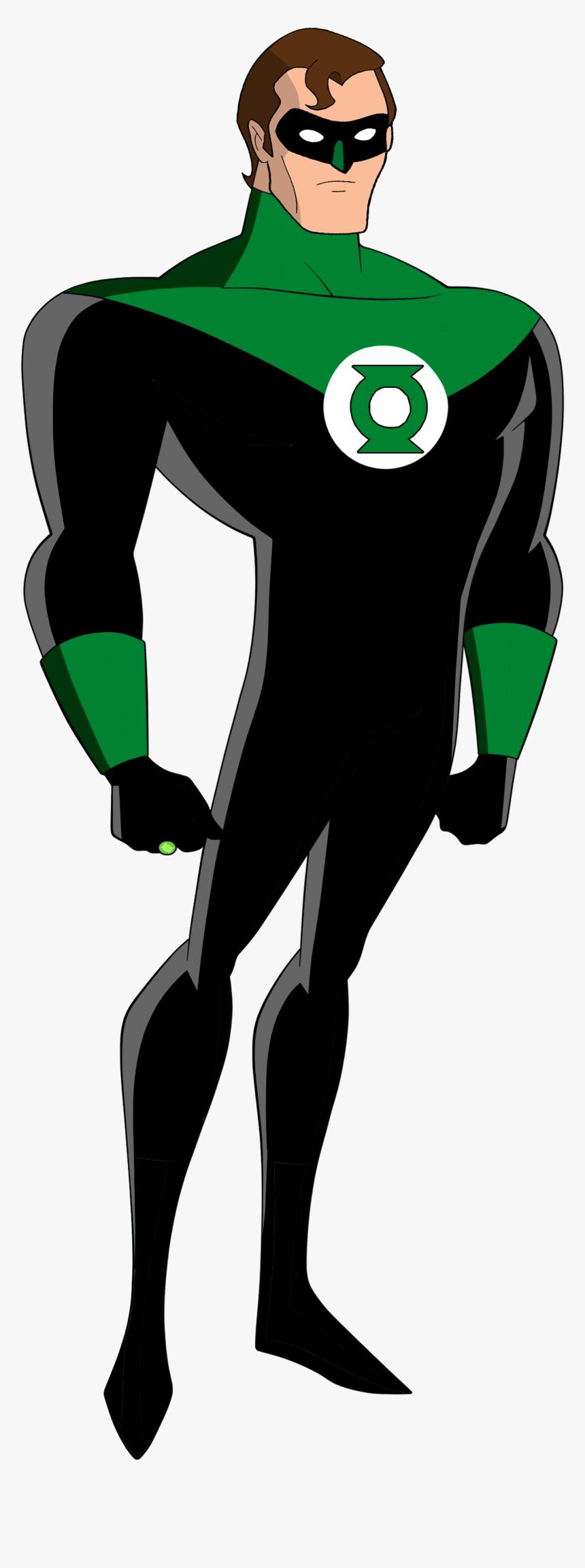 Green Lantern Clipart - Justice League Tas Green Lantern, HD Png Download, Free Download