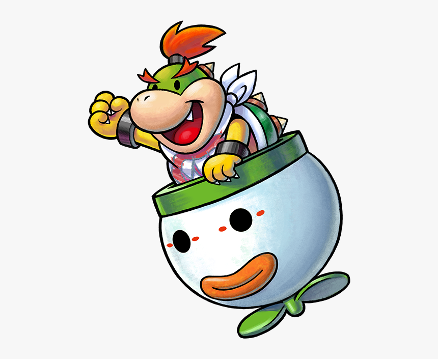Bowser Jr Bowser Jr Mario And Luigi Hd Png Download