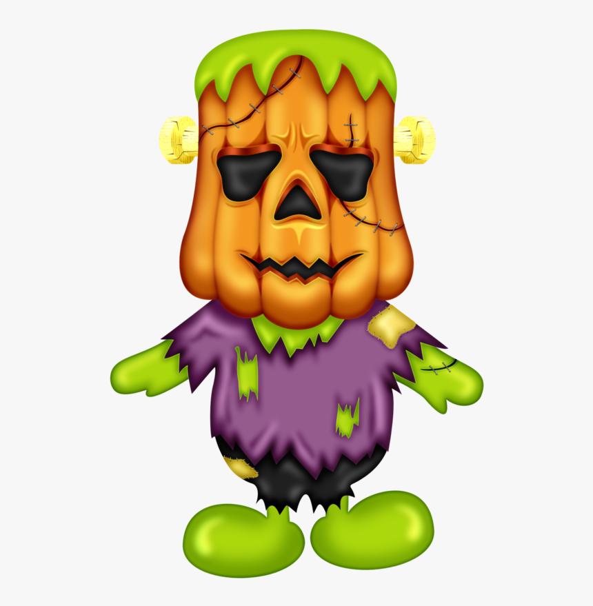 Halloween Frankenstein Pumpkin Man Clip Art Halloween Clipart Hd Png Download Kindpng