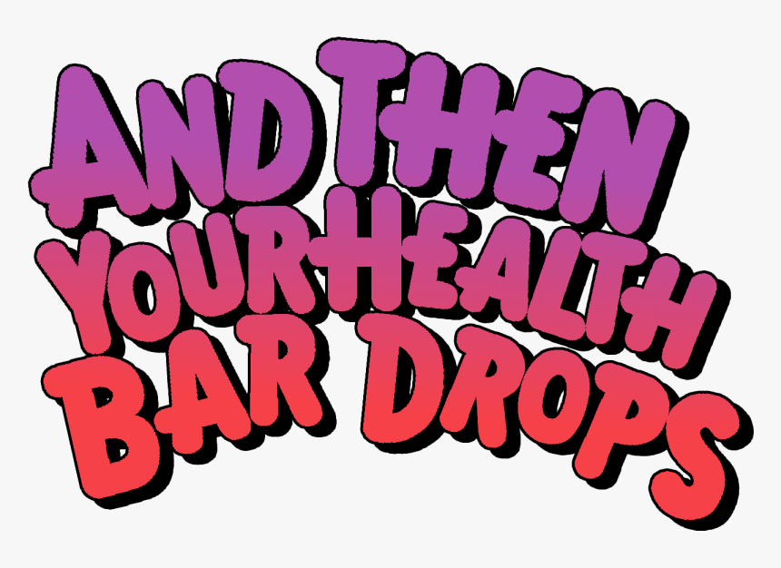 Then Your Health Bar Drops Sbubby, HD Png Download, Free Download