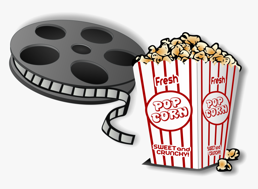 Popcorn Movies Clipart And For Free Use In Transparent Cinema Clipart Hd Png Download Kindpng