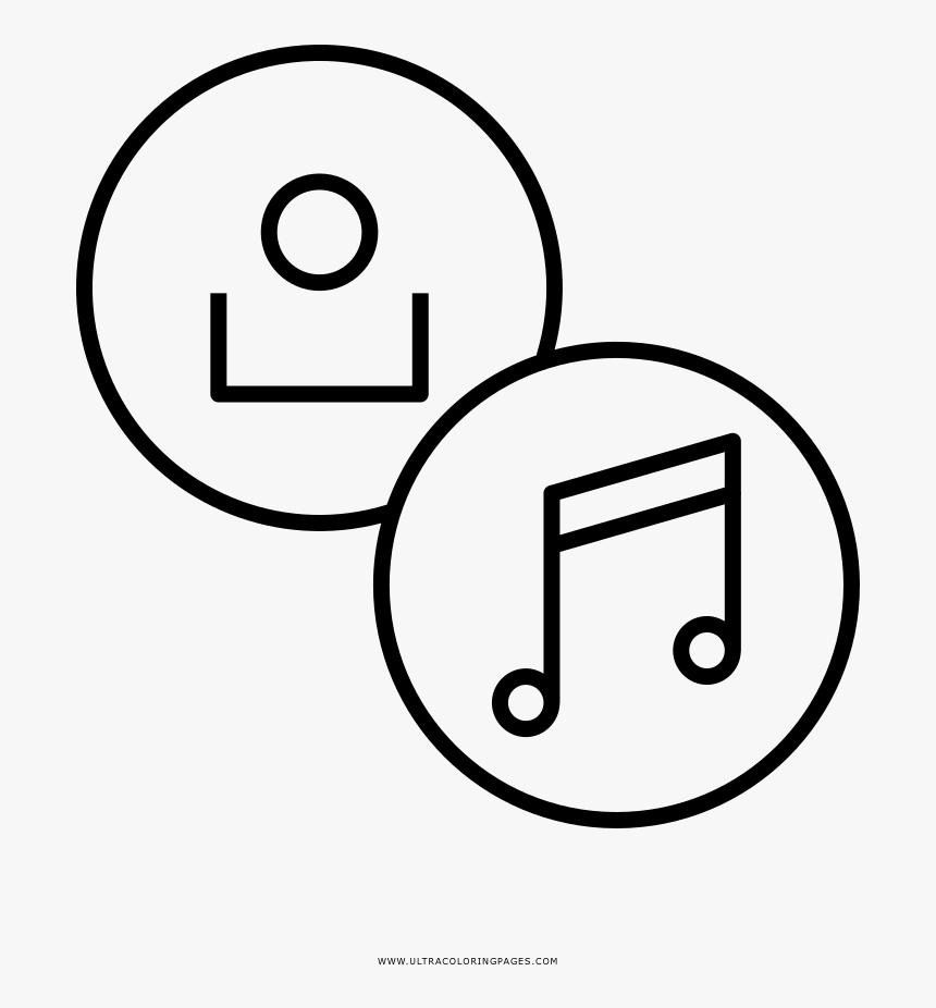 Transparent Notas Musicais Png Notas Musicais Para Colorir Em